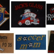 Custom business logos embroidery